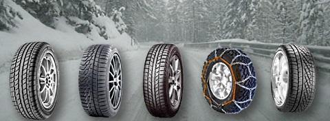 Tutto sui pneumatici invernali
